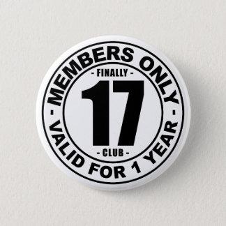 Chapa Redonda De 5 Cm Club finalmente 17