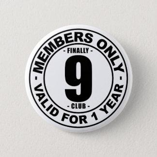 Chapa Redonda De 5 Cm Club finalmente 9