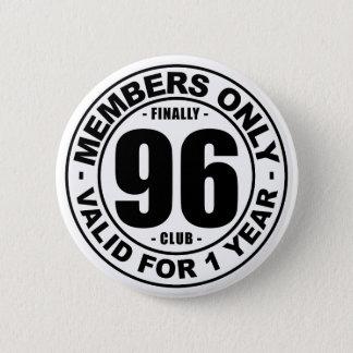 Chapa Redonda De 5 Cm Club finalmente 96