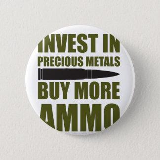 Chapa Redonda De 5 Cm Compre más munición, inviértala en metal