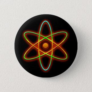 Chapa Redonda De 5 Cm Concepto atómico