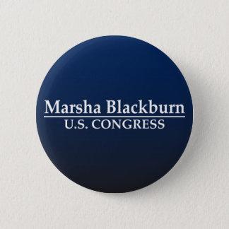 Chapa Redonda De 5 Cm Congreso de Marsha Blackburn los E.E.U.U.