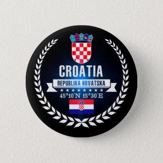 Chapa Redonda De 5 Cm Croacia