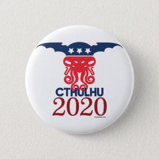 Chapa Redonda De 5 Cm Cthulhu para el presidente 2020