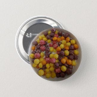 Chapa Redonda De 5 Cm Cuenco de cereal colorido