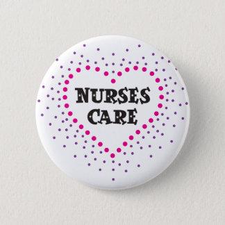 Chapa Redonda De 5 Cm cuidado de las enfermeras