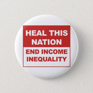 Chapa Redonda De 5 Cm Cure esta nación - desigualdad de la renta del