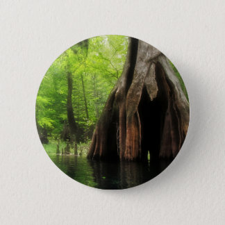 Chapa Redonda De 5 Cm Cypress hueco masivo