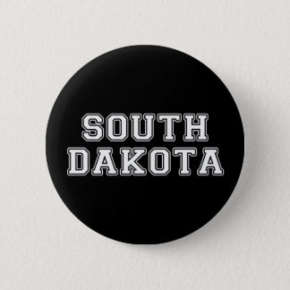 Chapa Redonda De 5 Cm Dakota del Sur