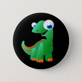 Chapa Redonda De 5 Cm David el dinosaurio