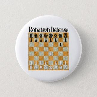 Chapa Redonda De 5 Cm Defensa de Robatsch