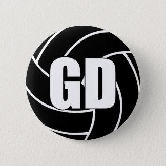 Chapa Redonda De 5 Cm Defensa GD de la meta del Netball