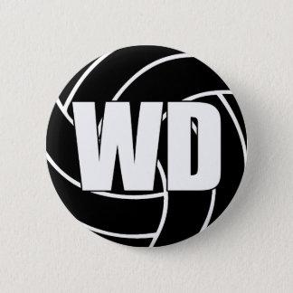 Chapa Redonda De 5 Cm Defensa WD del ala del Netball