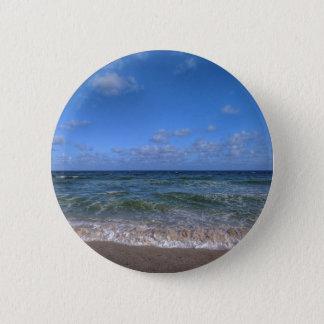 Chapa Redonda De 5 Cm Día de la playa