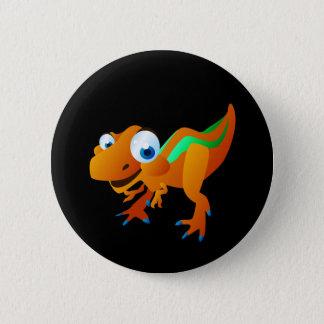 Chapa Redonda De 5 Cm Dina el dinosaurio