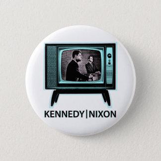 Chapa Redonda De 5 Cm Discusión 1960 de Kennedy Nixon