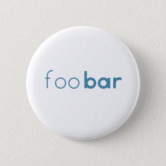 Chapa Redonda De 5 Cm Diseño minimalista de la barra de Foo