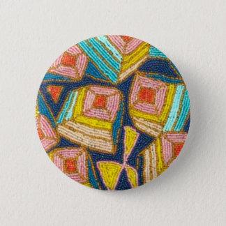 Chapa Redonda De 5 Cm Diseño moldeado bonito del art déco