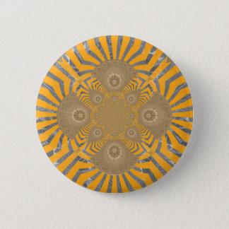 Chapa Redonda De 5 Cm Diseño simétrico asombroso nervioso precioso del