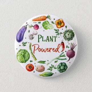 Chapa Redonda De 5 Cm Diseños Planta-Accionados