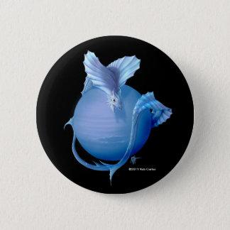 Chapa Redonda De 5 Cm Dragón de Neptuno