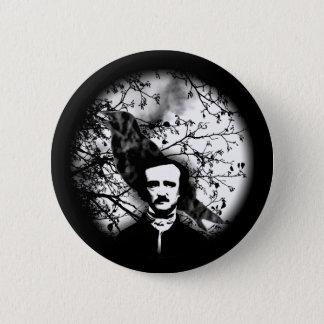 Chapa Redonda De 5 Cm Edgar Allan Poe 'el Raven