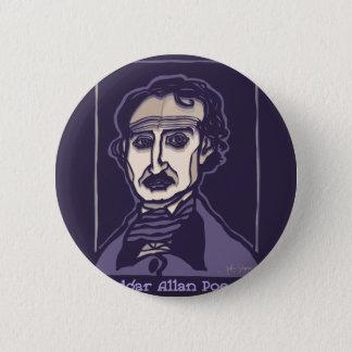 Chapa Redonda De 5 Cm Edgar Allan Poe por FacePrints
