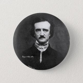Chapa Redonda De 5 Cm Edgar Allen Poe, perno-en