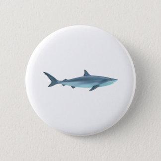 Chapa Redonda De 5 Cm Ejemplo del tiburón