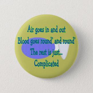 Chapa Redonda De 5 Cm El aire va y hacia fuera… el resto es complicado