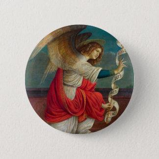 Chapa Redonda De 5 Cm El ángel Gabriel - Gaudenzio Ferrari