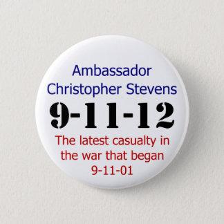 Chapa Redonda De 5 Cm El aniversario 911