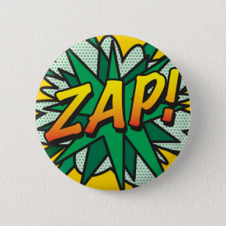 Chapa Redonda De 5 Cm ¡El arte pop del cómic ZAP!