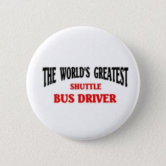 Chapa Redonda De 5 Cm El conductor más grande del servicio de autobús