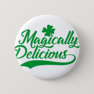 Chapa Redonda De 5 Cm El día de St Patrick mágico delicioso