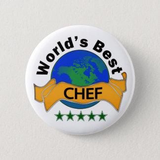 Chapa Redonda De 5 Cm El mejor cocinero del mundo