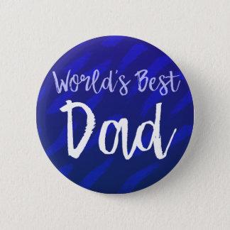 Chapa Redonda De 5 Cm El mejor papá del mundo