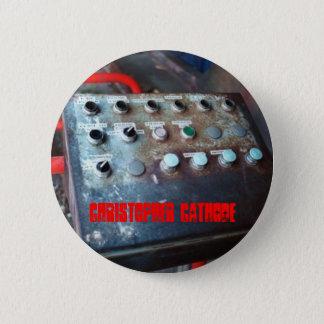 Chapa Redonda De 5 Cm El panel de control del cátodo de Chris abotona el