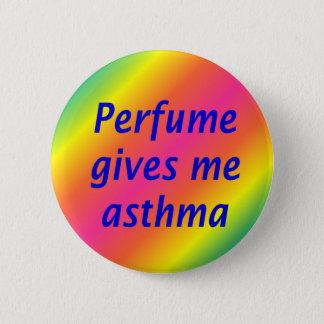 Chapa Redonda De 5 Cm El perfume me da asma