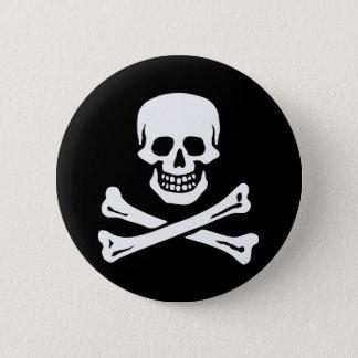Chapa Redonda De 5 Cm El pirata de Edward England