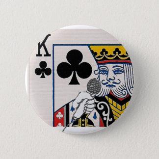 Chapa Redonda De 5 Cm El rey