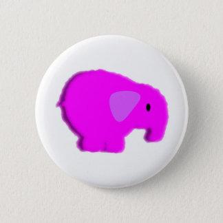 Chapa Redonda De 5 Cm elefant