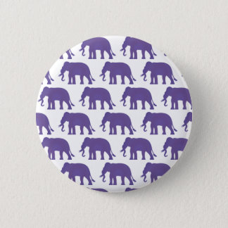 Chapa Redonda De 5 Cm Elefantes púrpuras