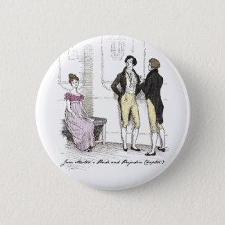Chapa Redonda De 5 Cm Ella es… Jane Austen tolerable P&P CH3