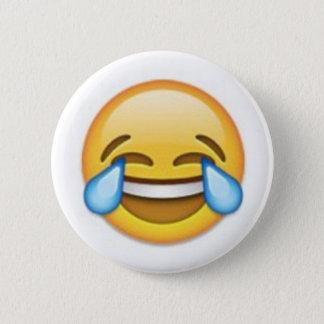 Chapa Redonda De 5 Cm Emoji de risa
