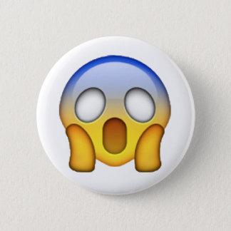 Chapa Redonda De 5 Cm Emoji - gritando