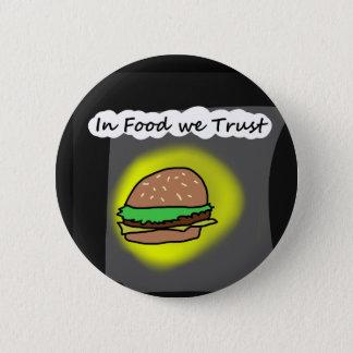 Chapa Redonda De 5 Cm En comida confiamos en
