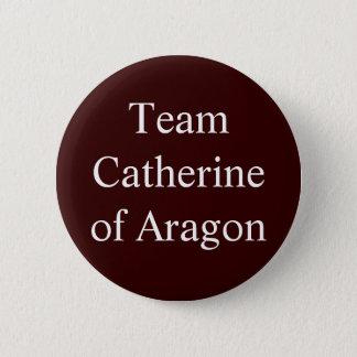 Chapa Redonda De 5 Cm Equipo Catherine de Aragón