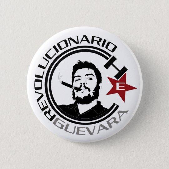 Chapa Redonda De 5 Cm Ernesto Guevara