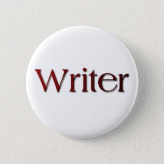 Chapa Redonda De 5 Cm Escritor